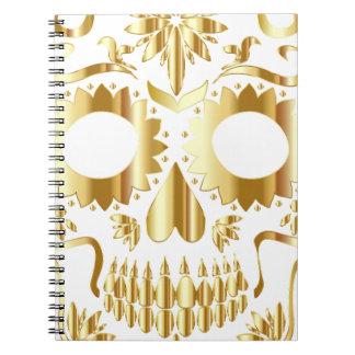 sugar-skull-1782019 notebook