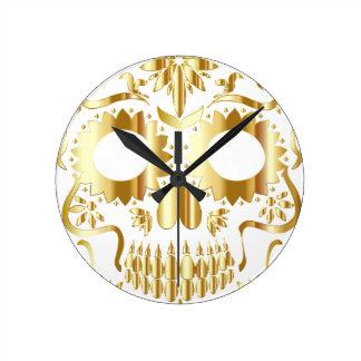 sugar-skull-1782019 wallclock