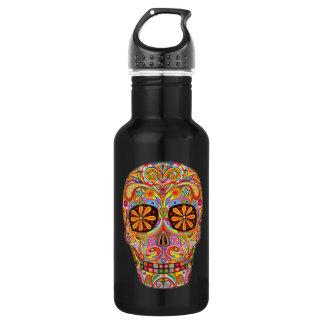 Sugar Skull Art 532 Ml Water Bottle