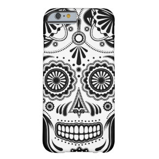 Sugar Skull Art Day of the Dead iPhone 6 case Barely There iPhone 6 Case
