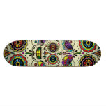 "Sugar Skull Art ""Day of the Dead"" Skateboard Deck"