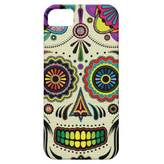 Sugar Skull Aztec Art Barely There iPhone 5 Case