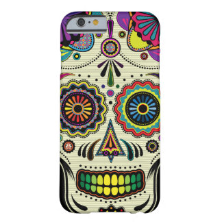 Sugar Skull Aztec Art iPhone 6 case Barely There iPhone 6 Case