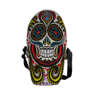 sugar skull bag courier bags