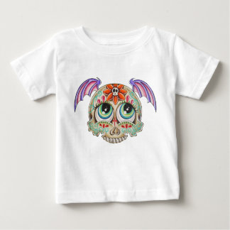 Sugar skull bat baby T-Shirt