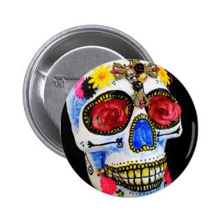 Sugar Skull Button