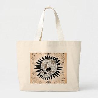 Sugar skull canvas bags