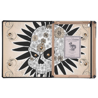 Sugar skull cover for iPad