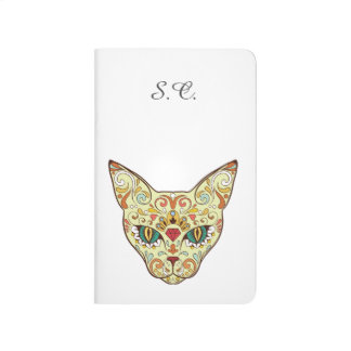 Sugar Skull Cat - Tattoo Design Journal