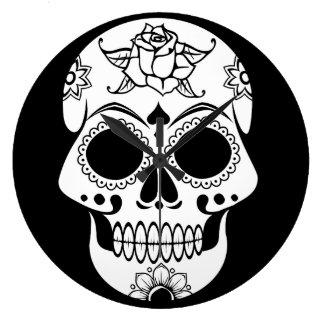Sugar Skull Clocks
