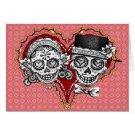 Sugar Skull Couple Cards