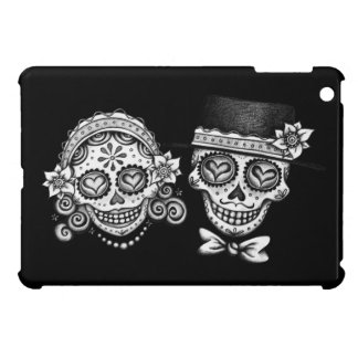 Sugar Skull Couple iPad Mini Case