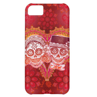 Sugar Skull Couple iPhone 5C Case