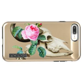 Sugar Skull Cow Rose Incipio DualPro Shine iPhone 8 Plus/7 Plus Case