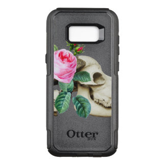 Sugar Skull Cow Rose OtterBox Commuter Samsung Galaxy S8+ Case
