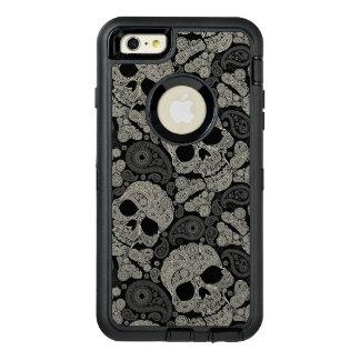 Sugar Skull Crossbones Pattern OtterBox iPhone 6/6s Plus Case