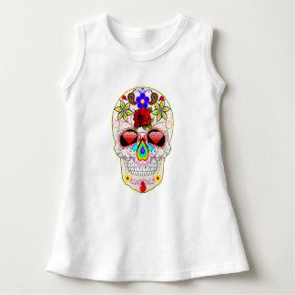 Sugar Skull Customizable Baby Sleeveless Dress