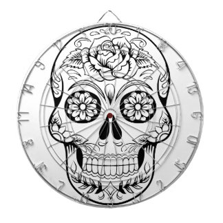 Sugar Skull Dartboard