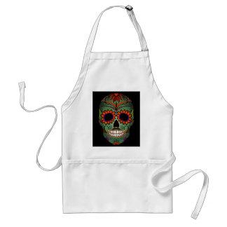 Sugar Skull Day of the Dead Apron