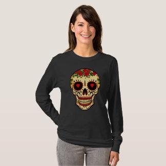 Sugar Skull Day of the Dead Design T-Shirt