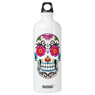 Sugar Skull - Day of the Dead, Tattoo, Mexico SIGG Traveller 1.0L Water Bottle