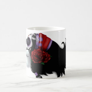 Sugar Skull Design Basic White Mug