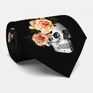 Sugar Skull Dia De Los Muertos Day of the Dead Tie