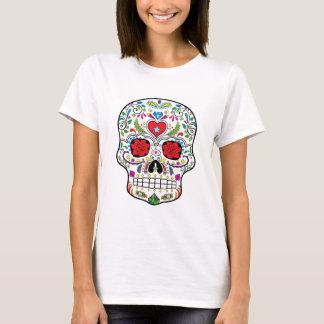 Sugar Skull Dia Des Los Muertos Styled Products T-Shirt