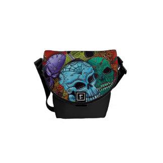 Sugar Skull Fashion Bag Courier Bags