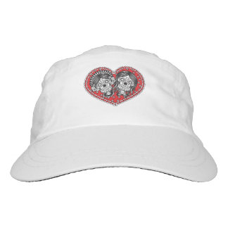 Sugar Skull Female Couple Hat