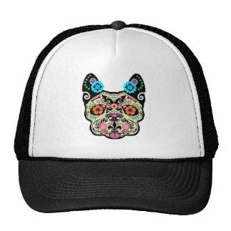 Sugar Skull Frenchie Trucker Hats