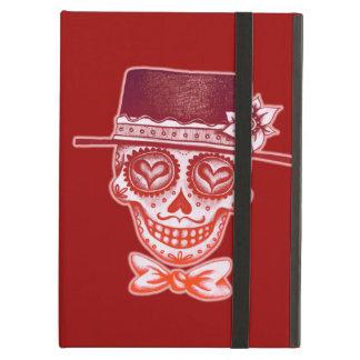 Sugar Skull Gentleman iPad Case with Kickstand