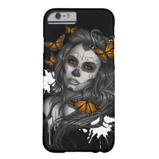 Sugar Skull Girl Barely There iPhone 6 Case