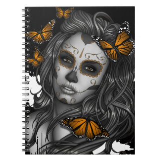 Sugar Skull Girl Notebooks