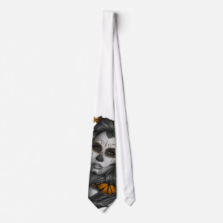 Sugar Skull Girl Tie