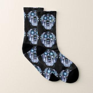 Sugar Skull Great Dane Socks
