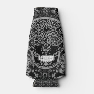Sugar Skull in Black and White