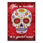 Sugar Skull Invitation
