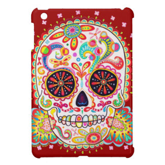 Sugar Skull iPad Mini Case