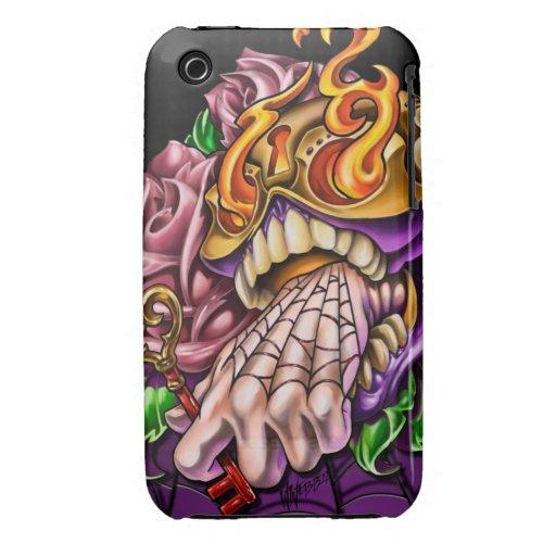 Sugar Skull iphone 3 Case