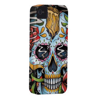 Sugar Skull iPhone 4 Cover