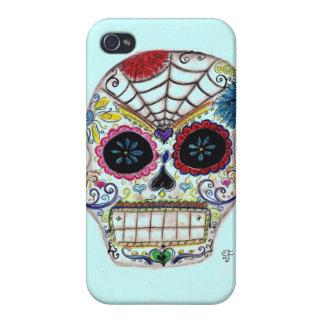 Sugar Skull iPhone 4 Cover