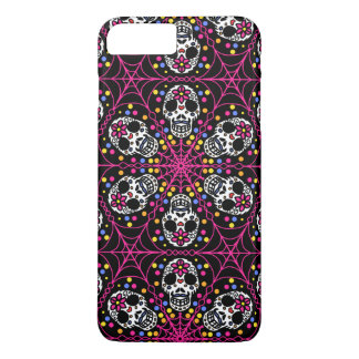 Sugar skull Kaleidoscope iPhone case
