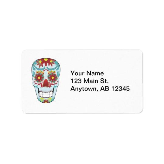 Sugar Skull Label Address Label