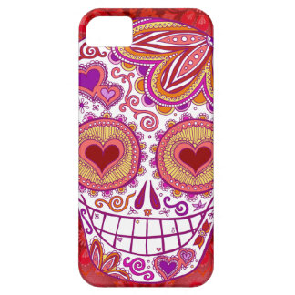 Sugar Skull Love iPhone 5 Case