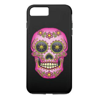 Sugar Skull Magenta Floral iPhone 8 Plus/7 Plus Case