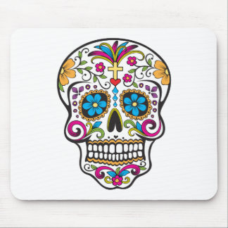Sugar Skull Mouse Pad
