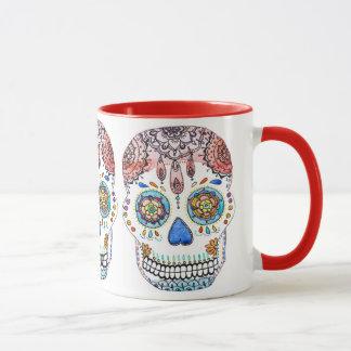 Sugar Skull Mug By Megaflora