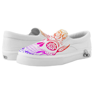 Sugar Skull multi-color shoes