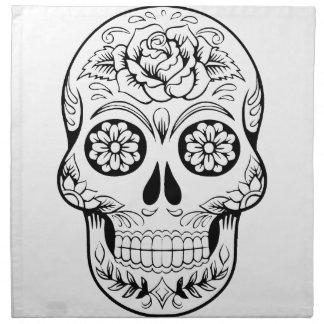Sugar Skull Napkin